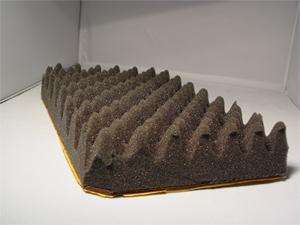 20 mousse acoustique structur e ventsys. Black Bedroom Furniture Sets. Home Design Ideas
